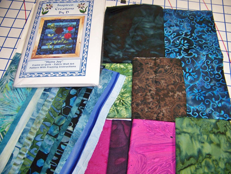 Line Art Quilt Kit : Moms joy art quilt pattern kit