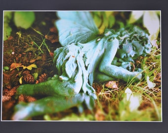 "Mounted Original Photograph - 20x18"" - Faery Love"