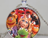 MUPPETS necklace charm, muppet gift Muppet party favor muppet gift favor