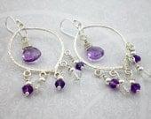 Amethyst Purple Silver Ch...