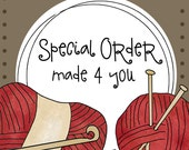 Special Order for Kristin Engler