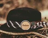 Woodsman Mustache Wax 1 Ounce Tin