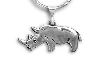 SS  Rhinoceros Pendant