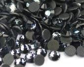1440pcs Iron On DMC Rhinestone HOTFIX Wholesale Black Diamond (Gray)