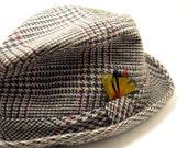 Vintage 1960s Hats -- Stetson Hat -- 60s Stetson Fedora
