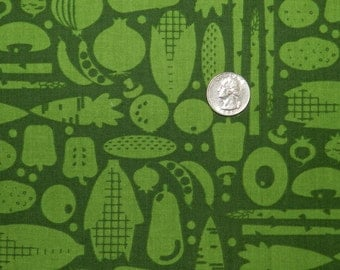Veggie Silhouette by Hoodie - Fabric By The Yard
