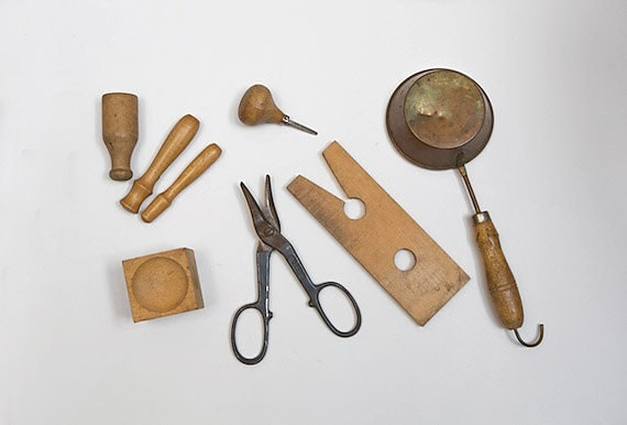 Vintage Collection of Jeweler Tools, Silversmithing