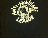 Well loved anti-nowhere league shirt