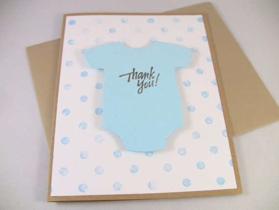 customize any color set of 10 3d handmade baby thank you