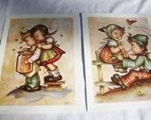 Nursery Art 1973 ROV LITHO Donald Art Co. Inc.Ct. No.51315 Paper Ephemera Girls Boys Children Playpals