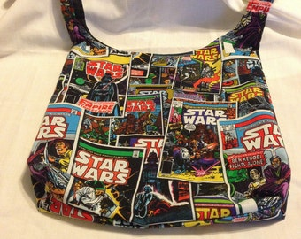 Star Wars Comic Book REVERSIBLE CrossBody Bag