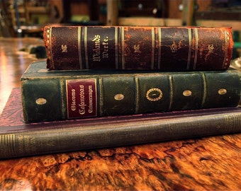 Collection of 3 Antique German Books