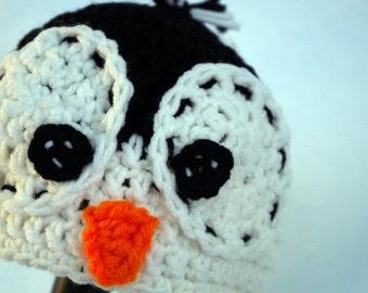 Penguin Hat - Newborn