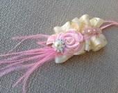 Victorian Collection - Newborn prop- Baby headband- Girls headband- Vintage headband