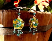 Recycled AriZona Lemonade Earrings