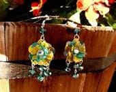 Recycled AriZona Lemonade Earrings