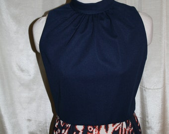 Vintage 1970s Sundress/Vintage Maxi Dress/ Vintage Long Sun Dress