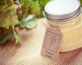 Pumpkin Soufflé scented Soy Candle in 8oz Mason Jar