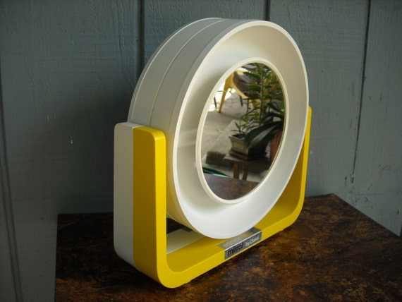 Mod Lighted Makeup Mirror Mirror By Clairol By Zeejunkhunter