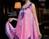 Indian Pakistani Designer SILKY LINE PERSIAN 11.25 Mtr Embroidered Collection Pink