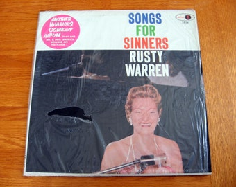 1950s-60s Songs for Sinners by Rusty Warren Party Record