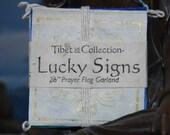 Lucky Signs Paper Prayer Flag