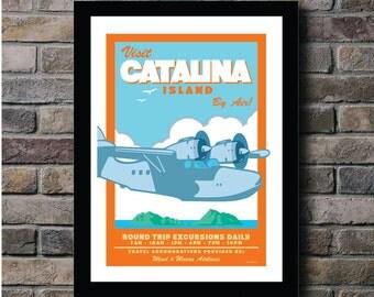 Catalina Island Digital Print - 11x14