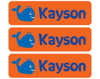 Waterproof Kids Labels