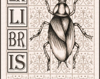 Set of 25 Ex Libris (Bookplates)