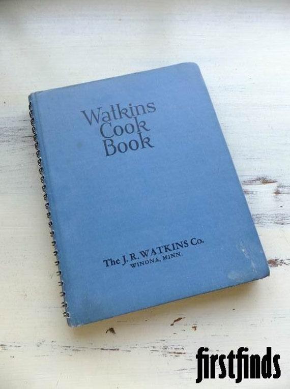 1 Vintage Watkin S Cookbook 1943 Watkins Cook Book By