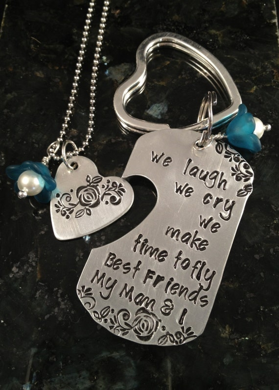 Mother S Day Keychain Amp Necklace Set Mother Daughter