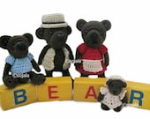 Miniature Bear Family Crochet Pattern Amigurumi Bears