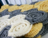 Crochet Baby Blanket and Rug Pattern, Let's Twirl