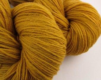 Pumpkin Superwash Sock Yarn