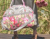Wylder Weekender in Josephine Bloom Donkey Oilcloth - Diaper Bag / Tote