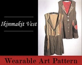 Ikinmakit Vest - flattering to both small and large sizes