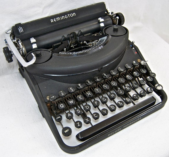 the noiseless typewriters Spawned by my noiseless on christmas eve, i was driving down 40th street in oakland,  get it if you love typewriters – i mean it 2 years ago.