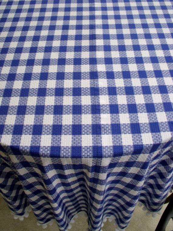 Blue Gingham Table Cloth Gay Cruise Porn
