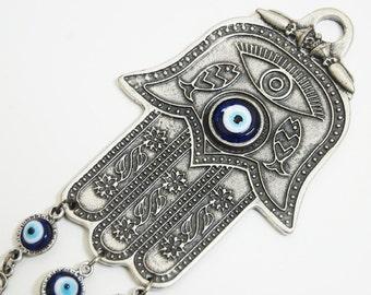 Hamsa Evil Eye Wall Hanging - WHA01