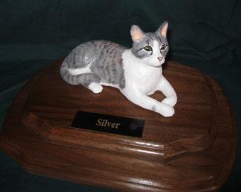 Custom Cat Statue.