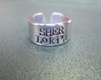 Sher Loki'd ring  Jewelry