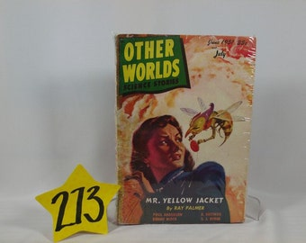 1951 Other Worlds Pulp Paperback