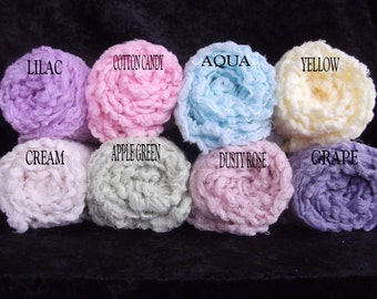 Set of Three Photography cheesecloth Wraps...  Newborn Cheesecloth Wraps..Photo Props