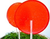 Salted Watermelon Jalapeno Limeade Gourmet Lollipops - Pick Your Size - Summer Party Favors - Hostess Gift