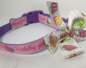 Cupcake Bow for Collars