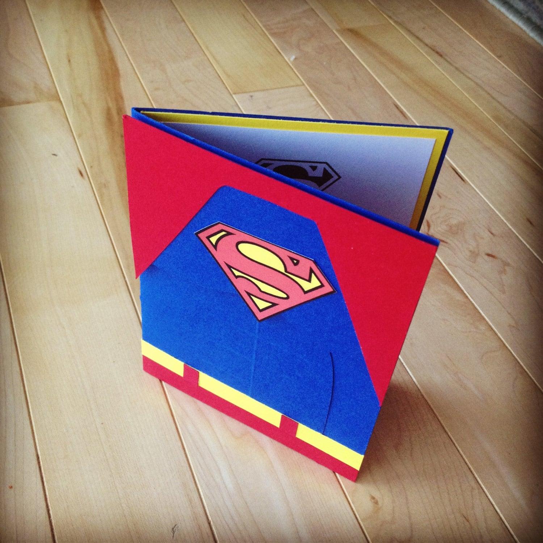 10 Retro Inspired Superman Birthday Party Invitations – Superman Birthday Invitations
