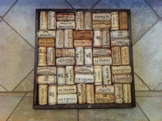 Items similar to wine cork trivet kitchen decor hot pad on for Kitchen designs cork