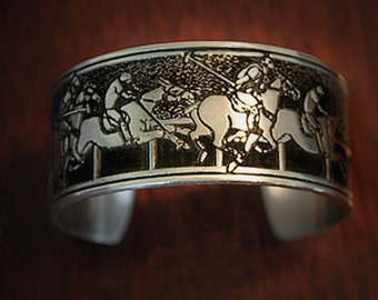 Polo Players Cuff bracelet