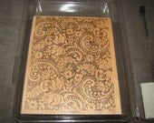 Victorian Lace Background Stampin' Up Rubber Stamp