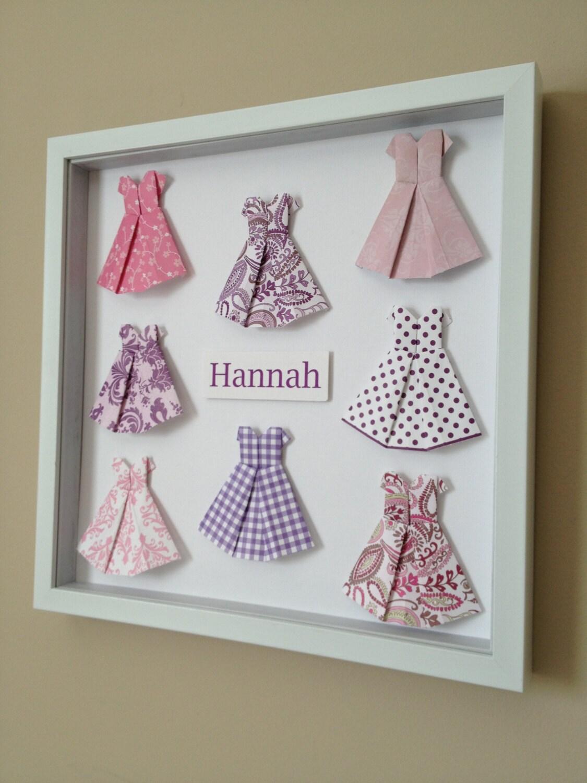 paper dress 3d paper art 12x12 shadow box frame by paperline. Black Bedroom Furniture Sets. Home Design Ideas